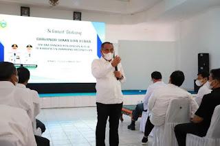 Kunker ke Humbahas, Gubernur Sumut: Satu-Satunya Kabupaten Surplus Pertanian di Sumatera Utara.