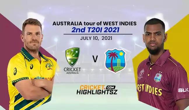 Australia vs West Indies 1st T20I 2021 Highlights