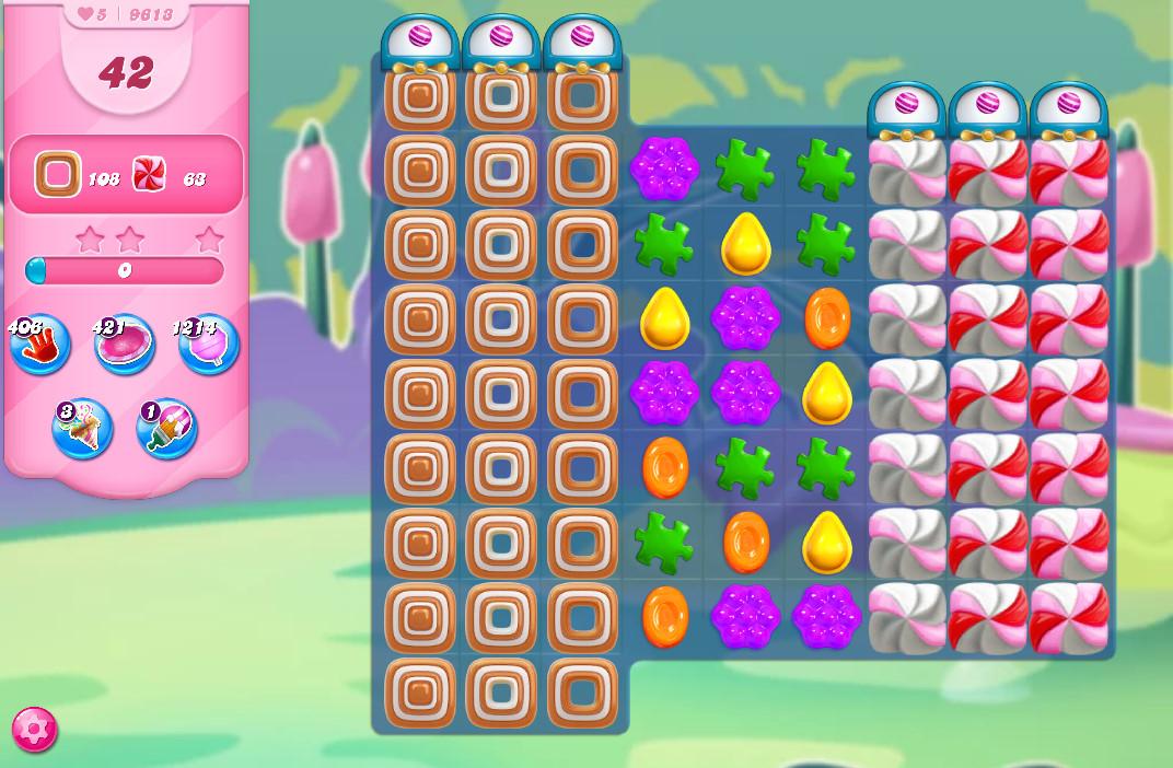 Candy Crush Saga level 9613