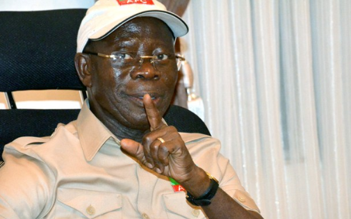APC Woman Ban Oshiomhole From Entering Imo State