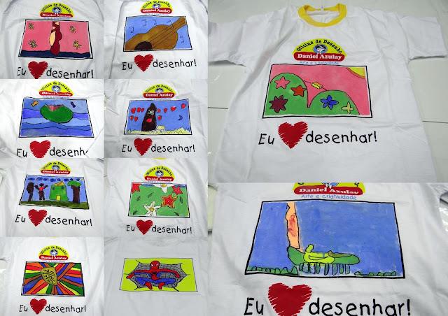 Curso de Desenho para Crianças - Desenho em Camisetas