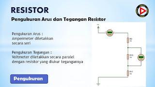 Pengukuran arus dan tegangan resistor