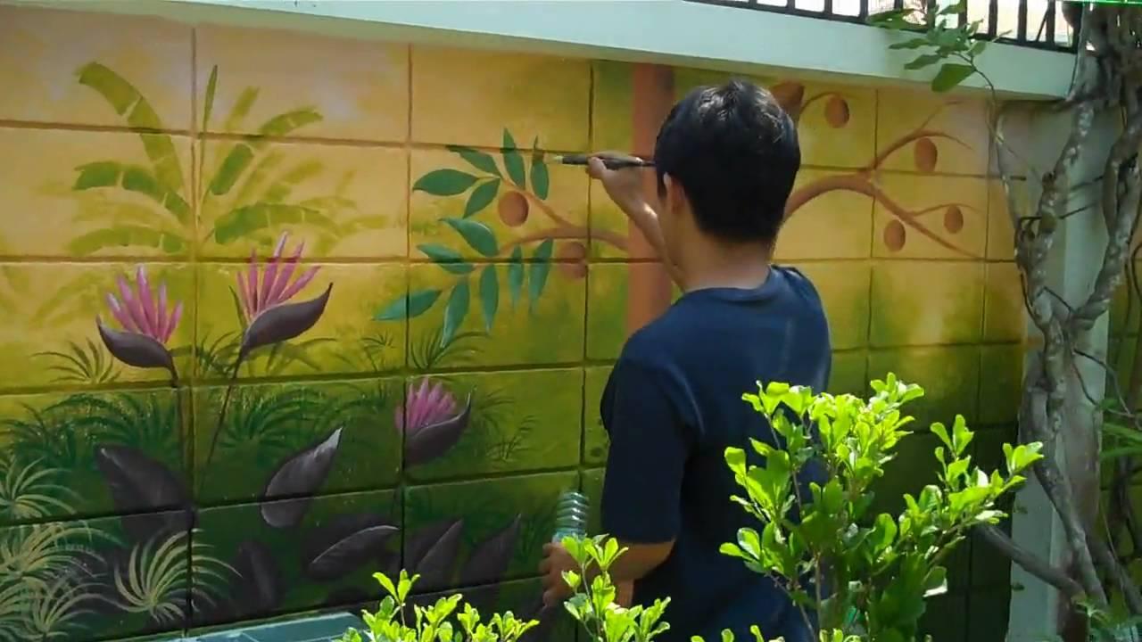 3 Façons De Peindre Les Feuilles Sur Les Murs Techoeil