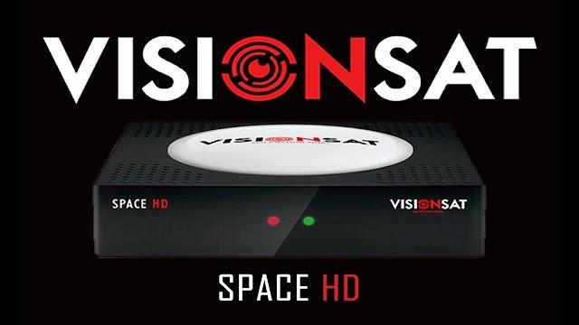 VISIONSAT SPACE HD NOVA ATUALIZAÇÀO V1.70 - 27/10/2020