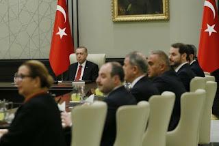 اجتماع الرئيس التركي مع اعضاء الحكومه لقرار رفع الحظر..انقر لتفاصيل اكثر