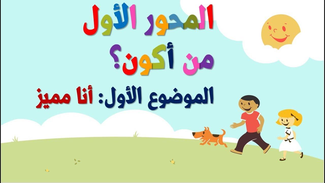 الصف الاول الابتدائي الترم الاول 2020 لغة عربية (مذكرة )