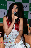 Bollywood Actress Adah Sharma Pos in White Printed Short Dress at OPPO F3 Plus Selfie Expert Mobile Launch .COM 0019.jpg