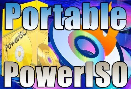 تحميل برنامج حرق الاسطوانات PowerISO 7.7 Portable اخر اصدار نسخة محمولة مفعلة