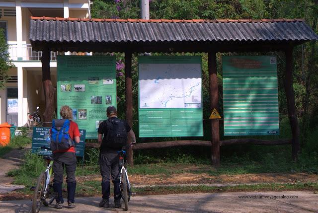 Trải nghiệm đạp xe trong rừng Nam Cát Tiên