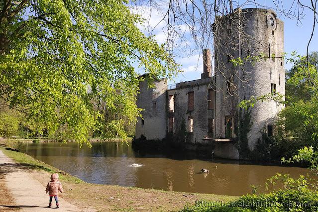 Grimbergen Castle of Belgium Brussels