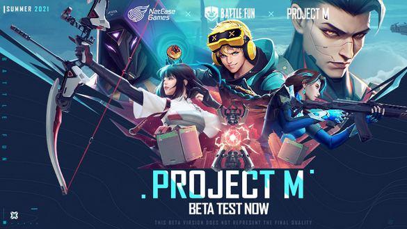 تحميل لعبة Project M للاندرويد من شركة NetEase
