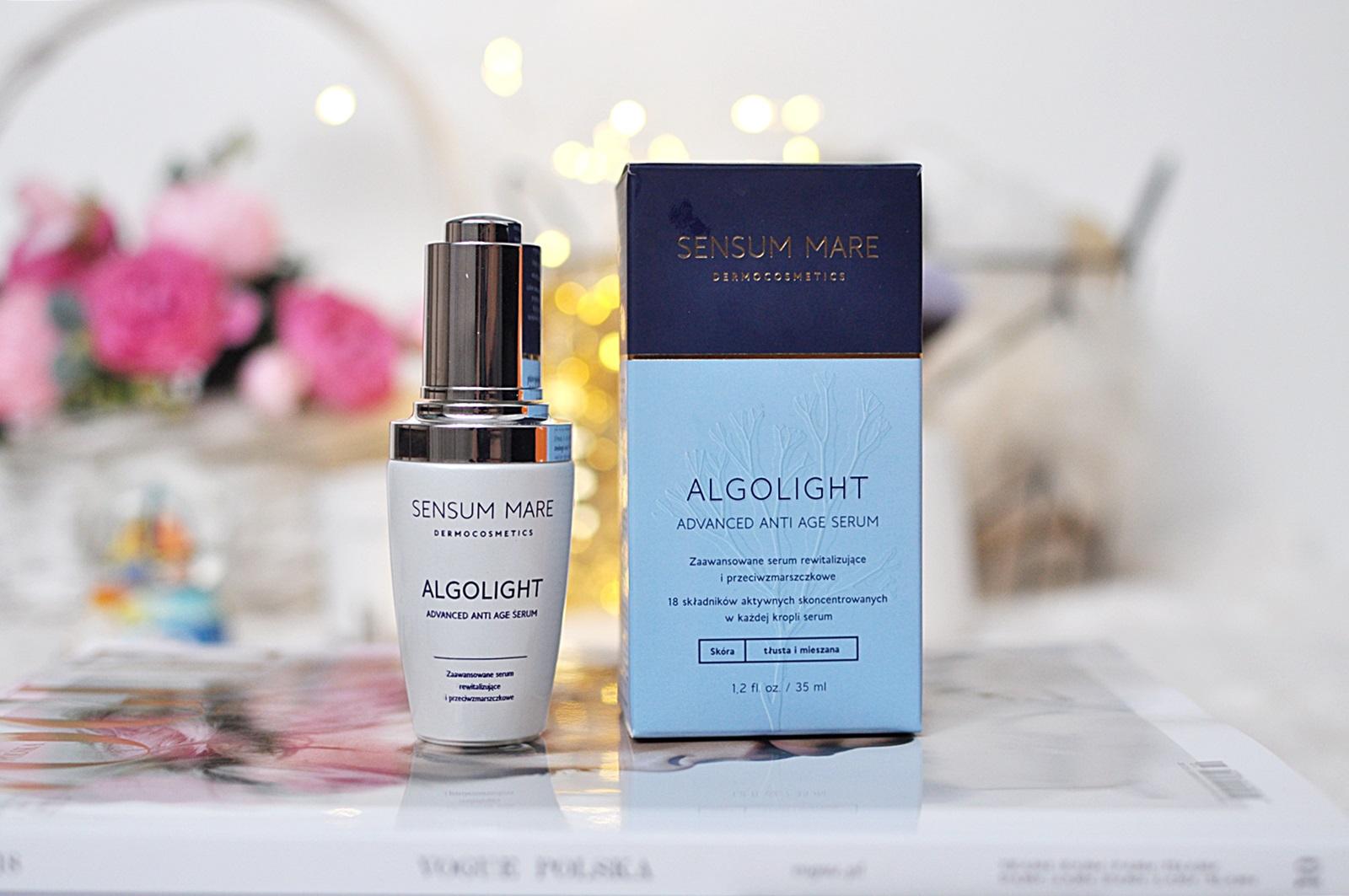 algolight serum do cery tłustej i mieszanej