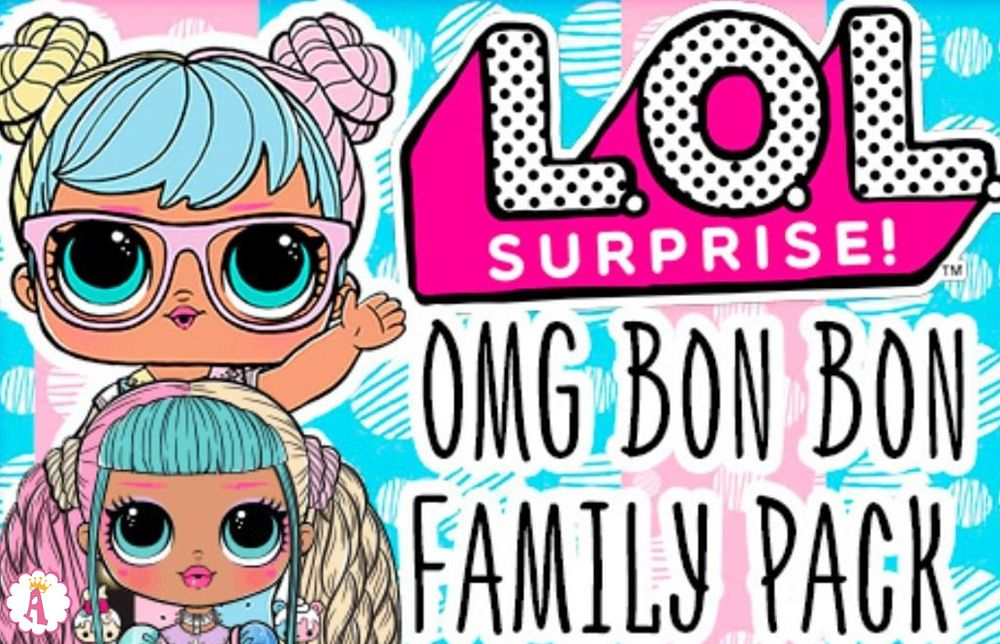 Семья L.O.L. Surprise O.M.G. Bon Bon Family Pack
