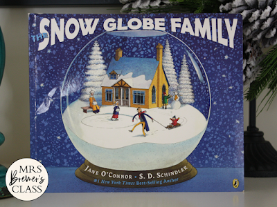 Snow Globe Family book study  literacy companion activities winter K-1