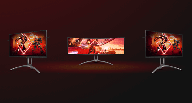 AOC and AGON Gaming monitors will be designed with different gamers in mind
