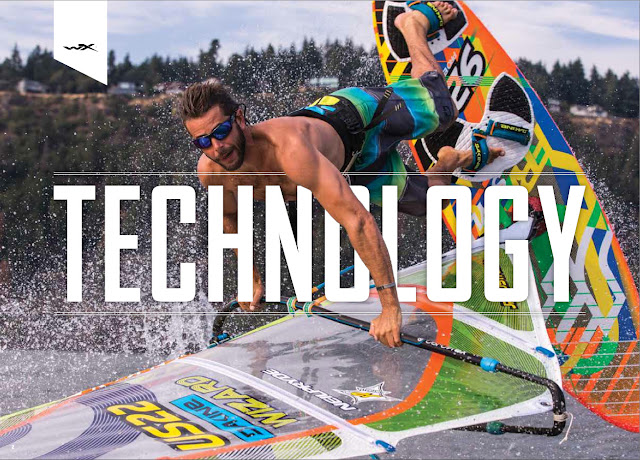 Wiley X technical eyewear, windsurfing the gorge.