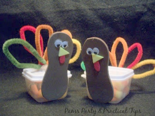 Turkey Candy Treat Boxes