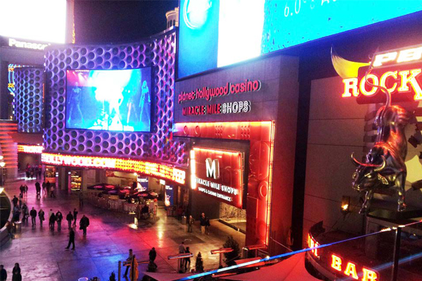Miracle Mile shops at Planet Hollywood - Vegas