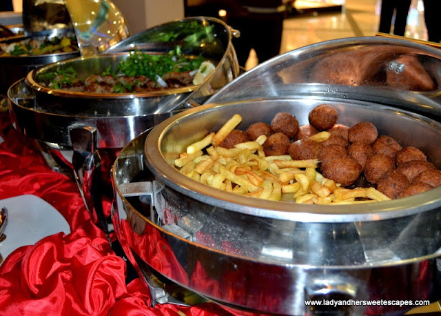Different kinds of Arabic Dishes in Hatam