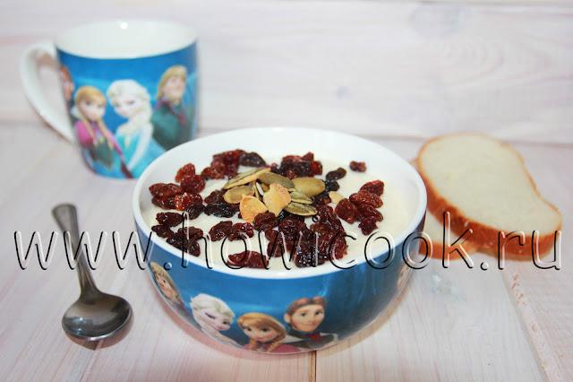 рецепт сладкой сырковой массы в домашних условиях