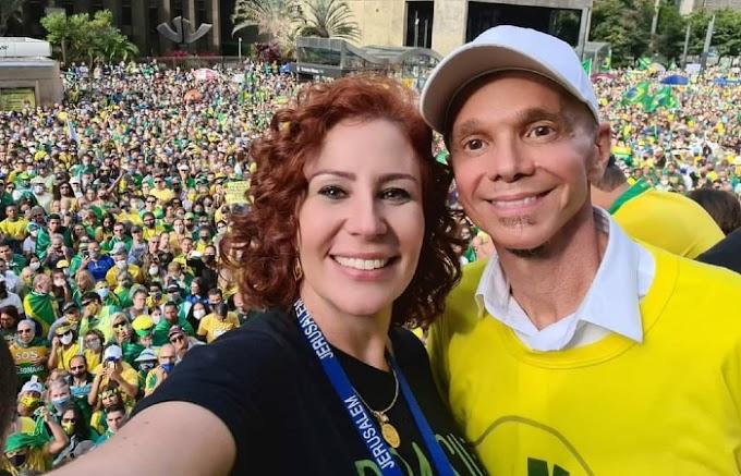 Compositor entra com ação judicial contra Netinho por uso da canção 'Milla' em ato bolsonarista