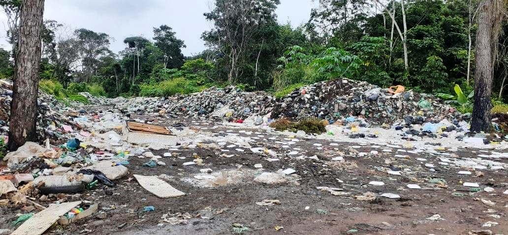 vc. repórter: leitor diz que lixão envergonha Belterra e pede imediata desativação