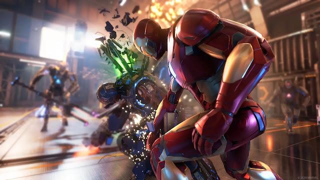 محرك رسومات لعبة Marvel Avengers يشتغل بأقصى قدراته على جهاز PS5 وهذه مميزات النسخة الجديدة