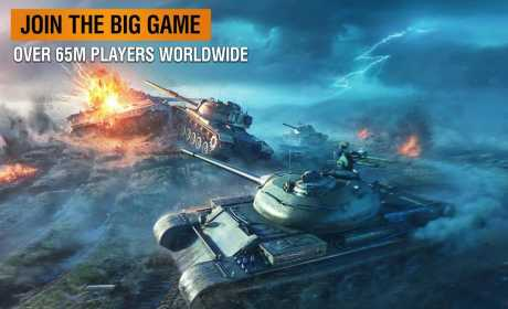 Game Tank Android World of Tanks Blitz APK