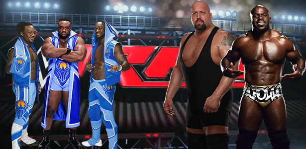 A future match up between The New Day and Big Show and Apollo Crews for the WWE Tag Team Titles