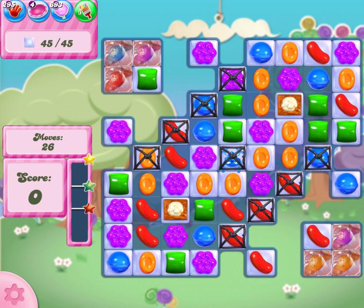 Candy Crush Saga level 2819