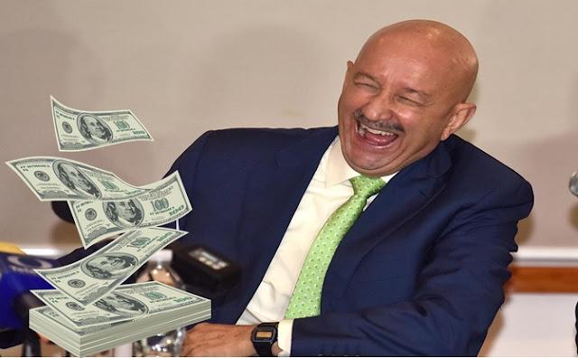 Dinero, cambio, dólar