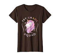 1ST Grade Squad Funny t-Shirt Birthday gift