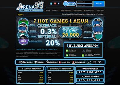 Situs Poker Resmi dan Ceme Terbaik Arena99