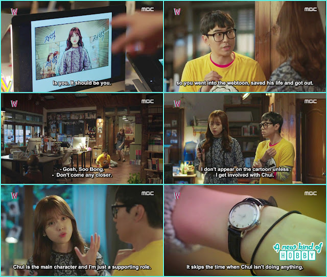Chul Kissed Yeon Joo - W Episode 3 Review - Korean Drama 2016