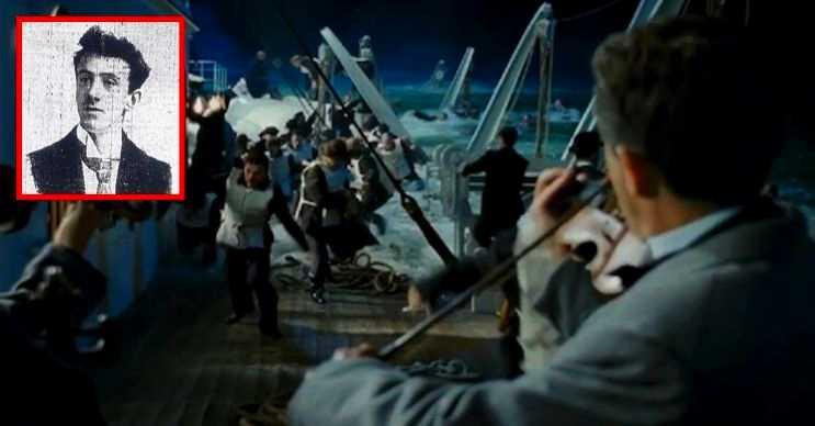 Titanik batarken keman çalan adam, durumun vahametini 2 dakika sonra anlayabilmişti.
