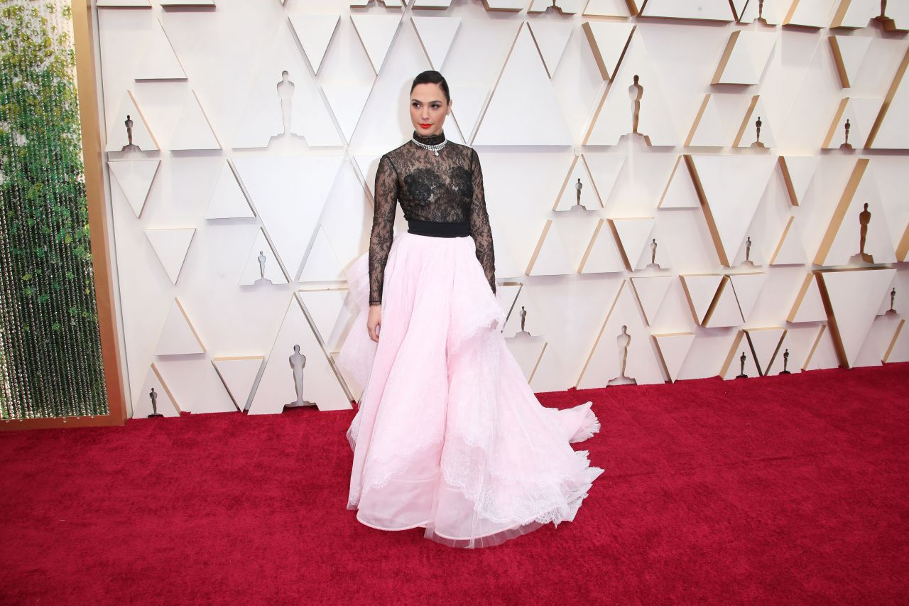 Gal Gadot at the 92nd Annual Academy Awards