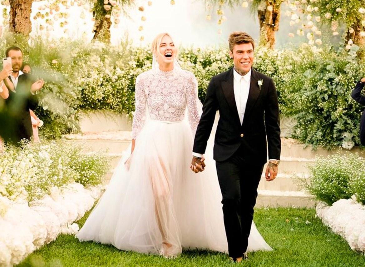 l'atteggiamento migliore 3e8cc fe619 Matrimonio Ferragni-Fedez: tutto sull'abito da sposa Dior di ...