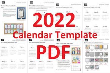 2022 Calendar Template https://www.etsy.com/listing/1084023638/2022-calendar-template-pdf-project