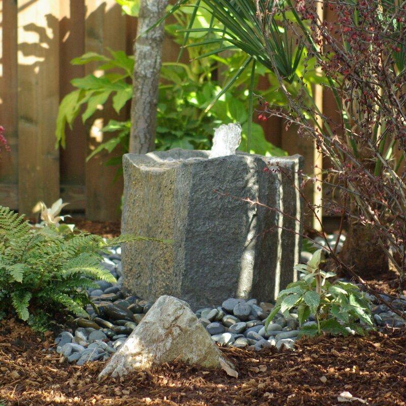 rock fountain by Liquid Art Fountains