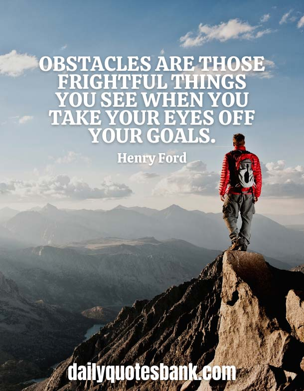 Famous Quotes About Overcoming Obstacles Making You Stronger