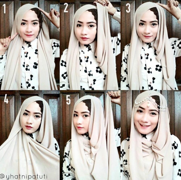 Tutorial Cara Memakai Jilbab Modern Style Trendy 2016
