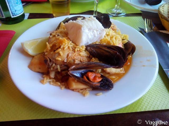 Tipico piatto durante la Feria de Paque di Arles