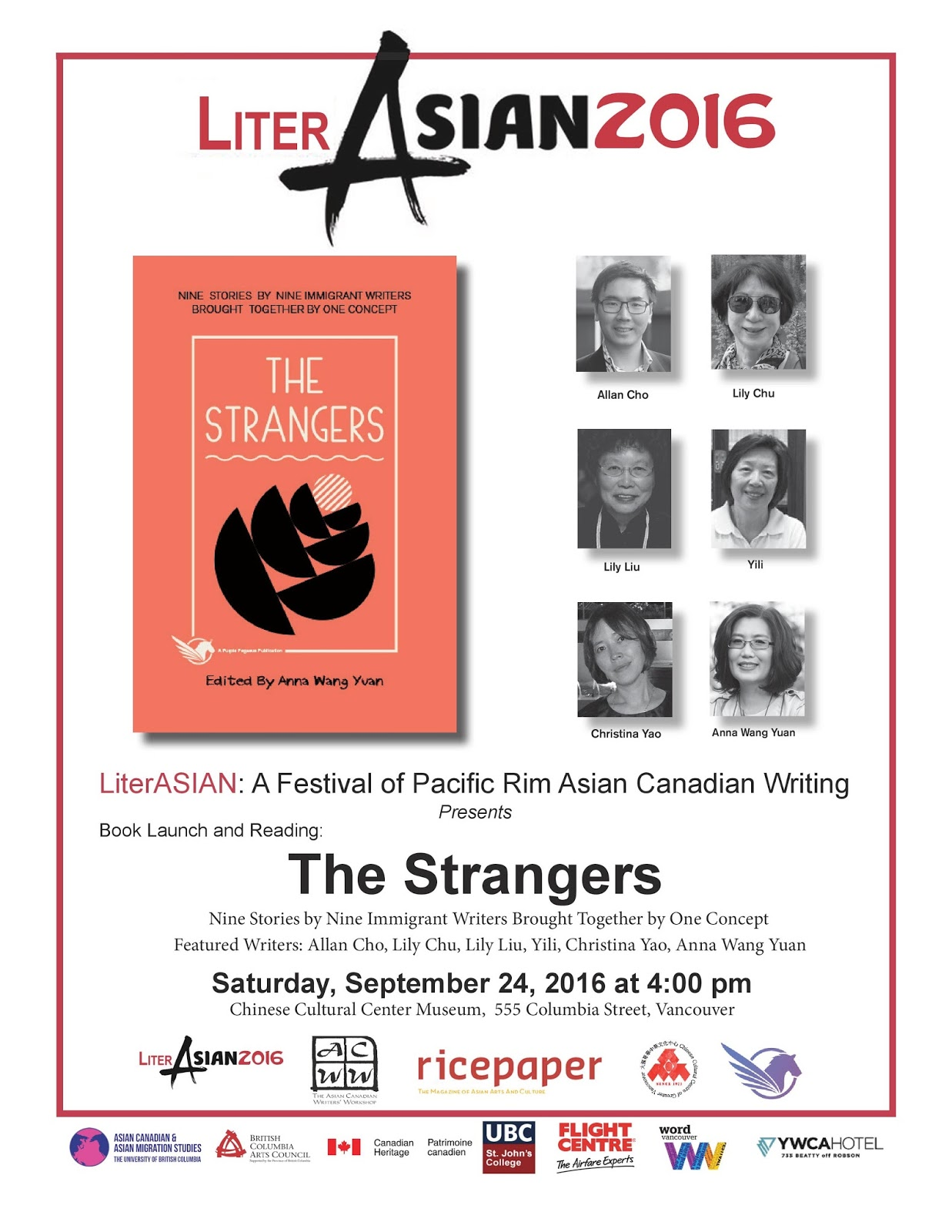 Asian canadian writers workshop