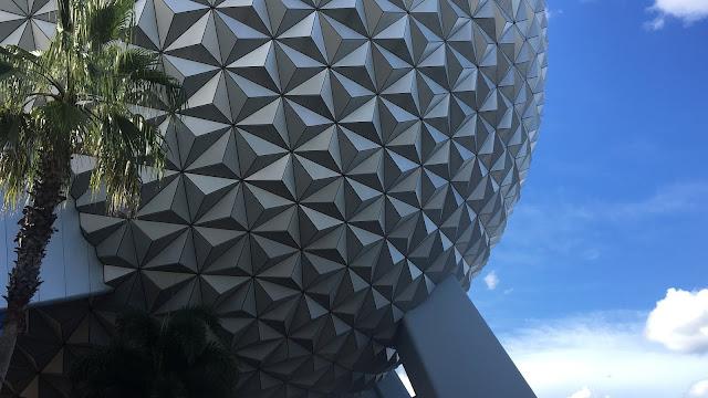 Spaceship Earth Epcot Disney World