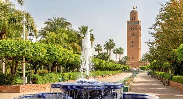 مراكش مدينة سياحية بامتياز