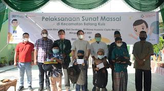Peduli Masyarakat, Pelindo 1 Khitan Masal Anak di Batang Kuis