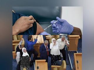 عدد من السياسيين لقحوا والشعب ما زال ينتظر وصول اللقاح: