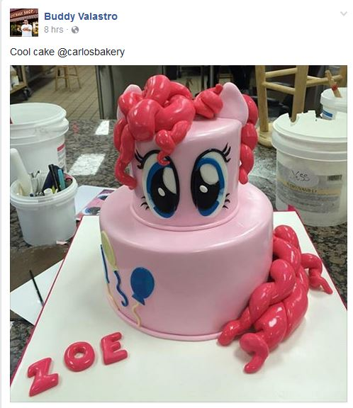 Equestria Daily MLP Stuff TLCs Cake Boss Shows Off Pinkie Pie