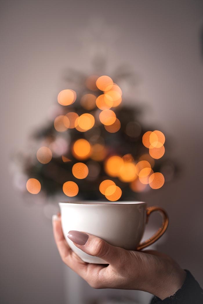 świąteczny bokeh jak uzyskać
