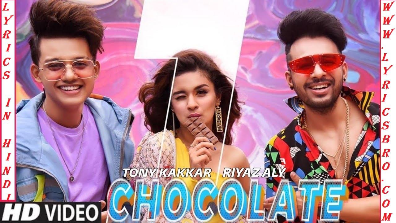 chocolate-song-lyrics-in-hindi-tony-kakkar,Riyaz-Aly,Avneet-Kaur